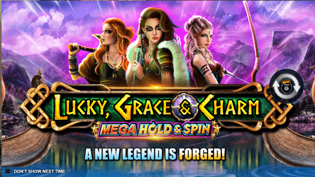 Lucky Grace and Charm Mega Hold and Spin